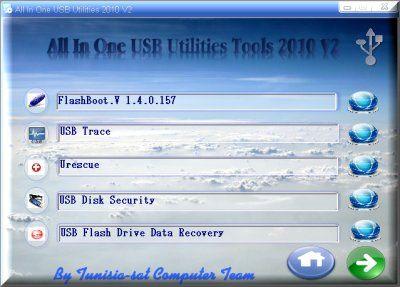 Utilidad USB 2010